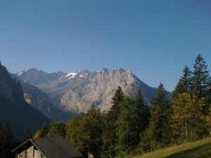 The view this morning from Engstlenalp